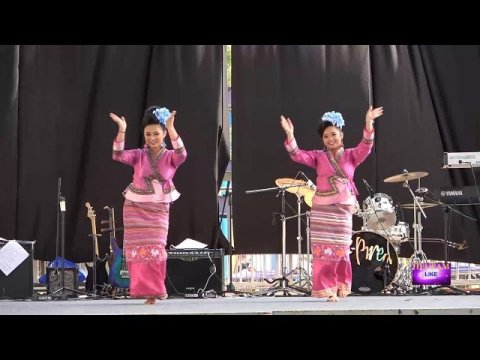 Hmong New Generation Festival 2019 - Lina Xiong and Mae Yang Danced like they just don''t care