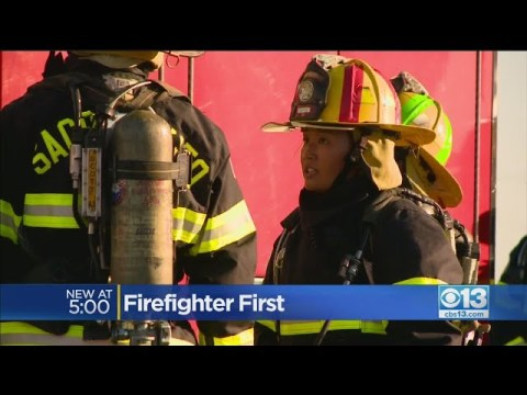 Hmong-American Firefighter