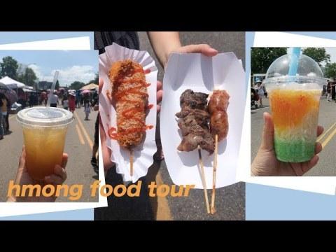 HMONG Food Tour - Hmongtown Festival 2019