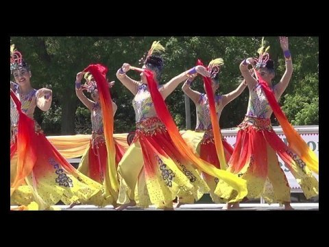 Snow Flakes Won 1st Place Dance Competition (Rd2) @ Sheboygan Hmong Festival 7/14/2019