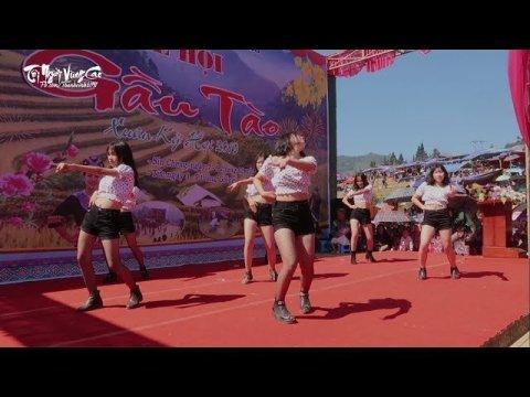 Nóng hết cả người khi xem các cô gái H'Mông nhảy Tại lễ Hội Gầu Tào Si Ma Cai 2019 | TNVC