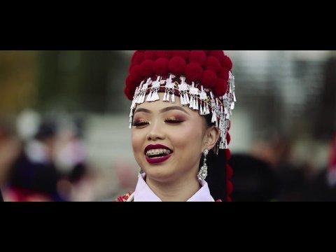 Sacramento Hmong New year 2018-2019 Hnub Xiab 1 ( Tub Hmoob & Nkauj Hmoob USA)