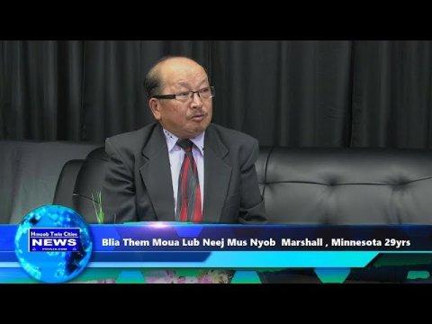 Hmoob Twin Cities News: Blia Them Moua Lub Neej Vam Meej Yog Lao Family Of Minnesota