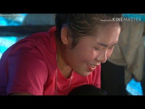 Nrog Hluas Nkauj Hmoob Toj Siab Mus Des Ntsi Taub Pem Teb/Beautiful hmong girl in Laos