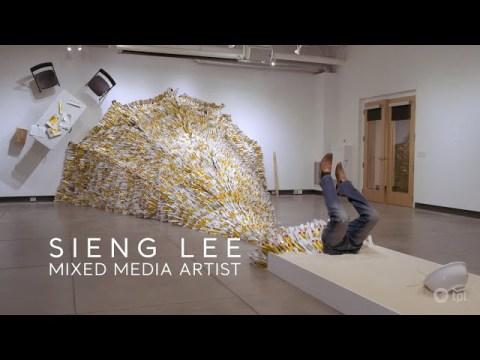 "Hmong Artist Explores ""Becoming American"""