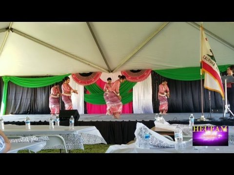 Oroville Hmong New Year 2019-2020: Nkauj Hmoob Dej Hli Performance