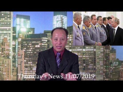 11/07/2019 - World News Today ( Hmoob Nplog Sau Ntawv Rau Hmoob Mekas )