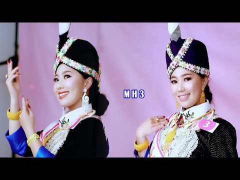 MH3 Miss beauty Hmong Laos New Year 2020 take the picture in studio