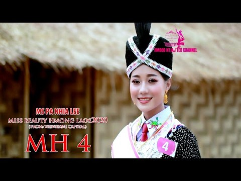 MH 04 Ms PA NHIA LEE Miss beauty Hmong Laos 2020