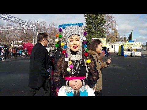 Yasmi @ the Sacramento Hmong New Year 2020
