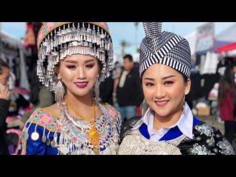 Hluas Nkauj Hmoob Pov Pob - Fresno Hmong New Year 2020