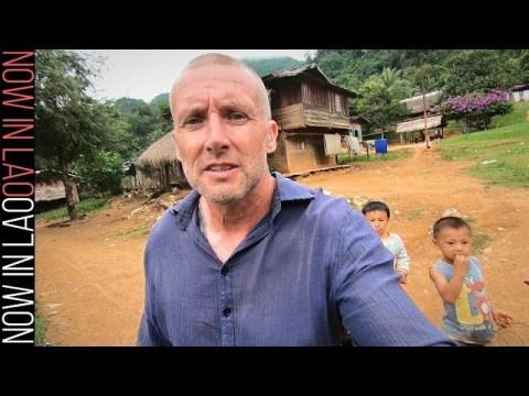 Hmong Village Laos  - Mountain Ride to the Hmong of Ban Long Lao Luang Prabang Laos S.E.Asia