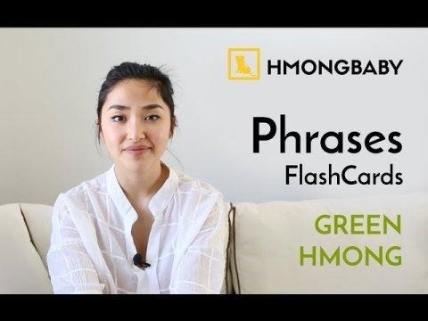 Hmong Phrases - Green Hmong Version
