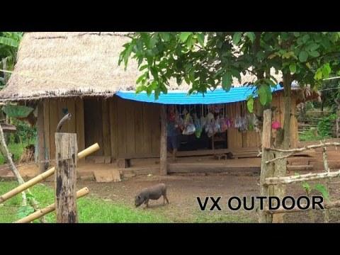 Travel to Sayabouny, Laos Hmong Village - Ncig Teb Chaws 2020 Continue part 2