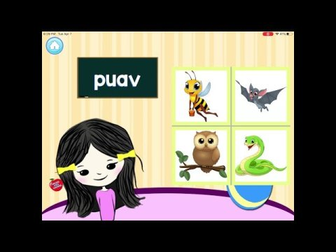 Hmong Kids Channel | Learn 30 Animals and Insects | Hmong Kids Channel Free iOS App