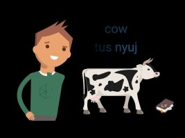 Learn Hmong 101 - part.1 (Vehicles, things around the house, and animals)