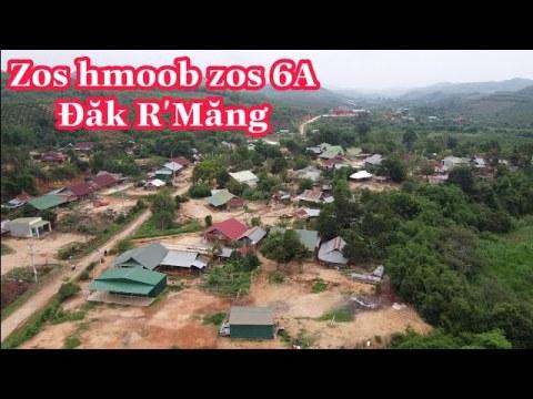 Flycam zos hmoob zos 6A ( Thôn 6A ), Đăk R' Măng, Đắk Glong, Đăk Nông