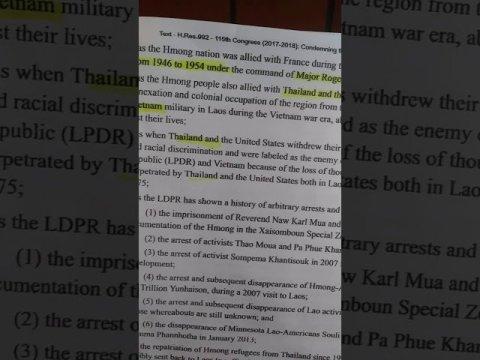 Bee Moua  fabkis thaib Vietnam hmong choafa state