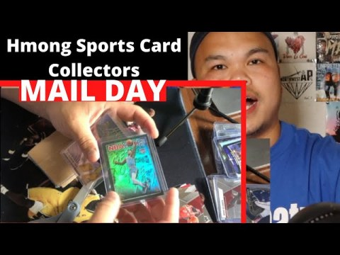 Hmong Sports Cards Collectors Mail Day