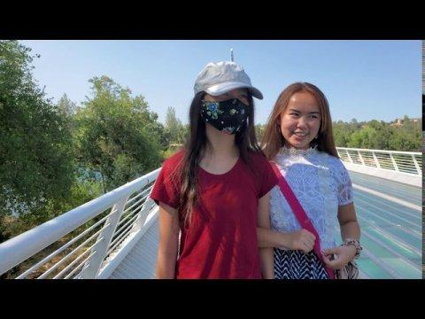 Sundial Glass Bridge Walk Redding CA Hmong