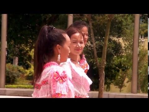 Dhia nkauj lom zem nyob Tuam Tshoj teb - Hmong China Dance