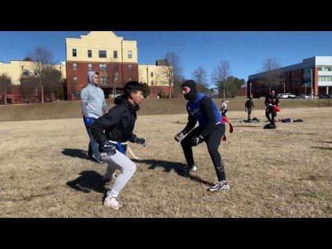 Georgia Hmong Flag Football Team - Light Work 2020