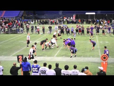 Metrodome Hmong Flag Football Tourney Clips 2013-2014  [1080P]