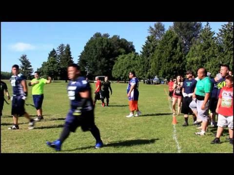 Legion vs. Highlanders Championship Highlights - Seattle Hmong Flag Football 2016