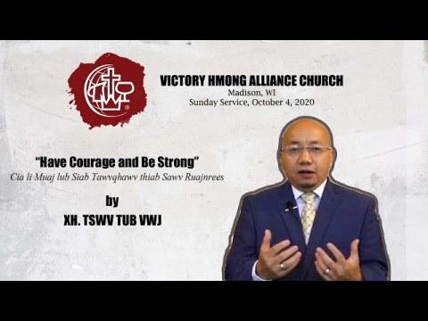 VHAC Madison Sunday Service October 11, 2020