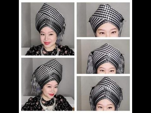 Hmong Head Wrap Tutorial - Siv Ceeb