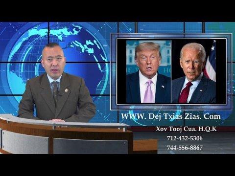10/08/20. Hmong News/Xov Xwm Hmoob/Local News/Breaking News/Special News Report/World News.