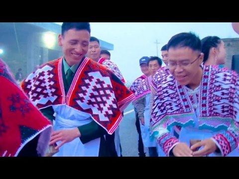 Peb Hmoob Txais Nyab - The Hmong go to pick up the bride and wedding