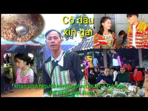 Khán phá Người Hmong Theo Đạo Tin Lành An Cới Cho Cô Dâu Mới nhất Tại Bạn cò Sái chiềng hát yên Châu