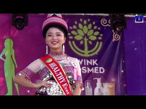 Miss Hmong Chiangrai 2021 Day 2 walk show