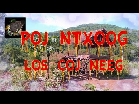 Poj Ntxoog Los Coj Neeg (Hmong Scary Story)