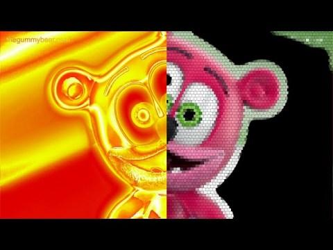 KUV YOG GUMMY DAIS Gummy Bear Gummibär Song in HMONG || Supe Spooky Cool Weird Visual Audio Effects