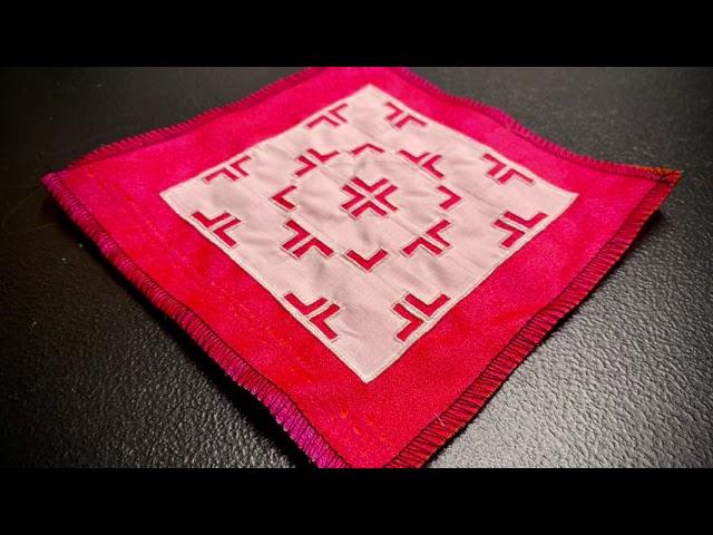 Hmong Paj Ntaub Mos Beginner Kit Tutorial