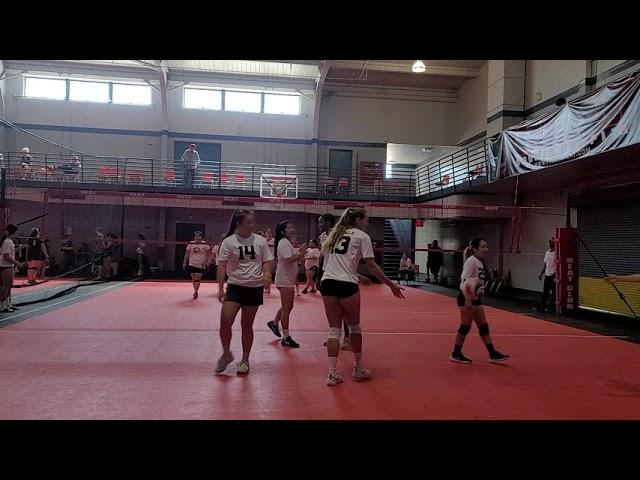 Fresno j4 womens hmong volleyball- Rebels vs Endure (1st game)
