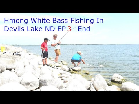 hmong american's White Bass Fishing In Devils Lake ND 7/4,5/21 EP 3 End