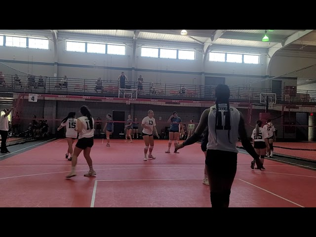 Fresno j4 womens hmong volleyball- Rebels vs Matrix (1st game)