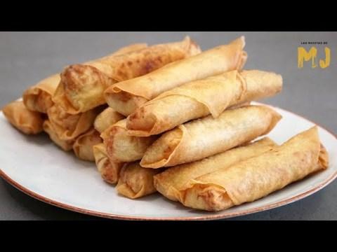 ROLLITOS FRITOS CHINOS | Los deliciosos Hmong Egg Rolls