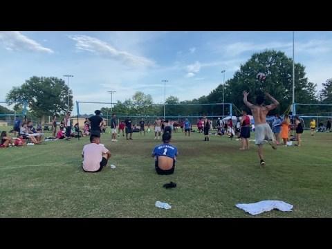 Men Hmong Volleyball Tournament GA 2021 Game 1 - Part 1
