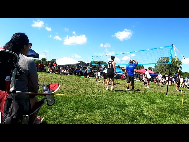 Creed vs Buh Game 1   Labor Day Hmong Volleyball 2021