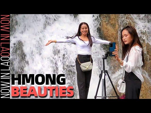 Beautiful Hmong Girls of Xaysomboun Laos | Now in Lao