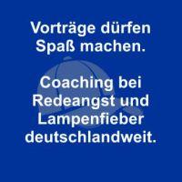 Coaching bei Lampenfieber und Redeangst deutschlandweit