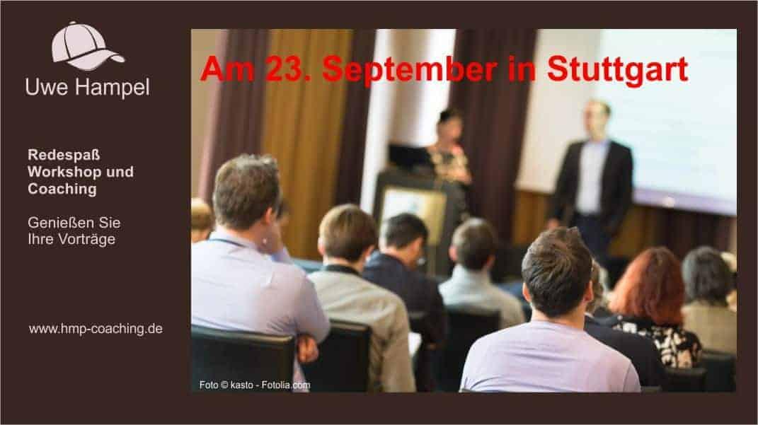 Redespaß-Workshop in Stuttgart