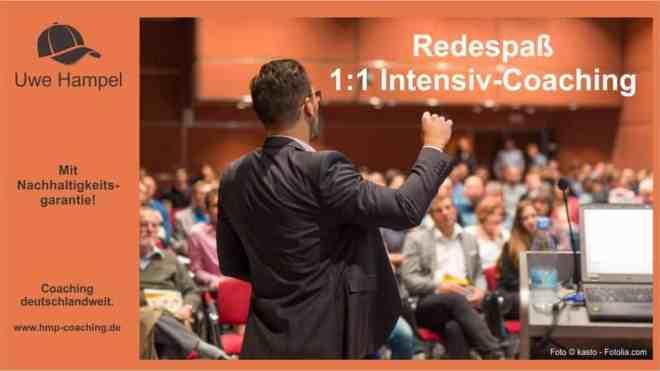 Redespass Intensiv Coaching mit der PPR Methode