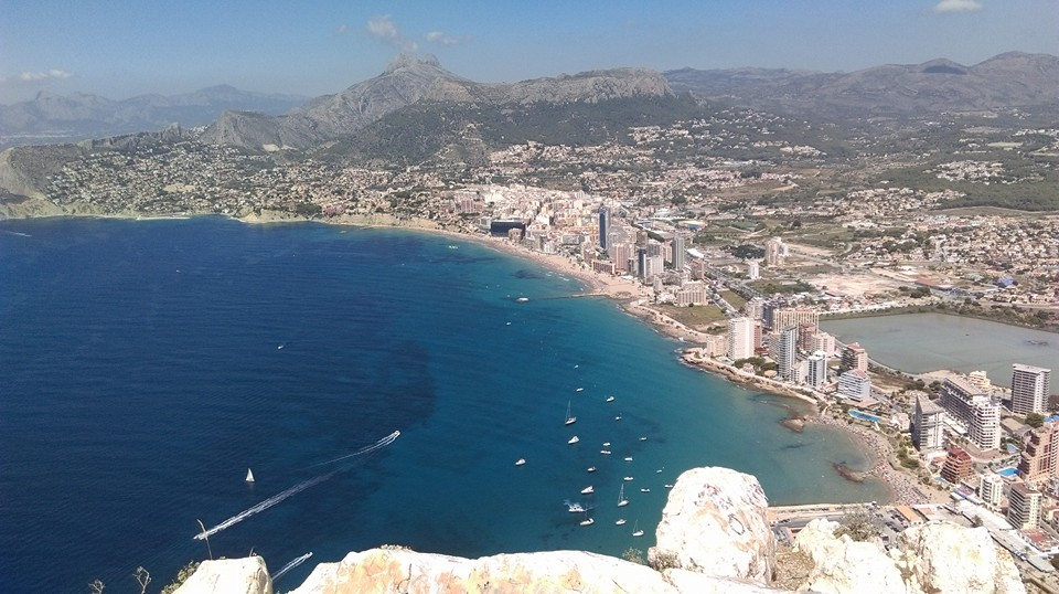 Views from el Peñon d'Ifach