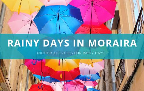 Rainy days in Moraira