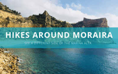 Beautifuls hikes around Moraira